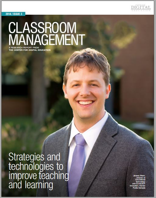 Classroom Management A research report from the center for digital education