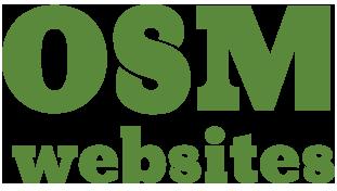 OSM Websites - design development and hosting